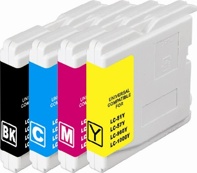 Brother Compatible Printer Ink Cartridge T-LC51BK/